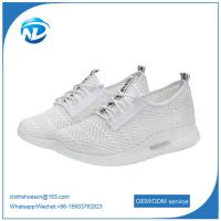 Cheap Lace-up Mesh Shoes For Girls EVA Outsole Sports Shoes For Famale wholesale