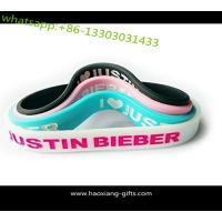 Cheap Factory custom charm silicone  bracelet promotional debossed silicone wristband wholesale