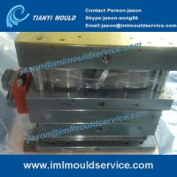Cheap PP thin wall plastic containers with lids mould, thin wall lid mould with in mould label wholesale