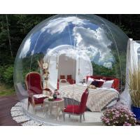 Cheap Transparent Outdoor Inflatable Bubble Tent For Camping Digital Printing wholesale