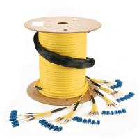 Buy cheap 100G MTP OM4 150Mtr Channel with 3 Connections,40G MTP OM3 100Mtr Channel with 4 from wholesalers