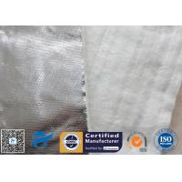 Cheap Aluminium Foil Fiberglass Needle Mat E Glass Heat Insulation Blanket 25MM 800℃ wholesale