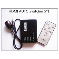 China Mini 5 Ports 1080p Video Hdmi Switch Splitter Hub Support 3d Ir Remote Control For Ps3 Dvd on sale