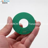 China Pancace Through Bore Slip Ring , Pancake Small Slip Ring 250RPM Speed 5mm Thickness on sale