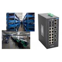 Cheap 4 gigabit SFP ports and 18 megabit ethernte ports unmanaged industrial switch No fan wholesale