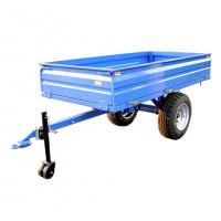 Cheap Tow behind tractor off-road use farm box trailer 1500kgs 2.0TR2W wholesale