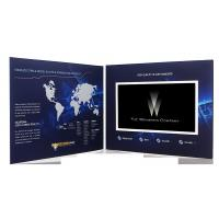 Cheap 7 inch 2GB Video booklet , Marketing lcd video card for company intruction wholesale