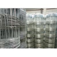 Galvanized Grassland Farm Fence / Field Fence Wire For Sheep And Cattle
