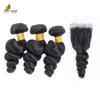 Buy cheap Free Tangle Real Malaysian Hair Weave Bundles 8a 1b 8 - 32 Inch No Mixture from wholesalers