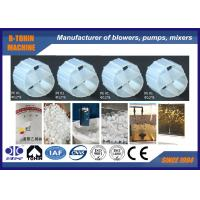 China 4 Holes MBBR Bio Filter Media PE Carrier For Waste Water Treatment on sale