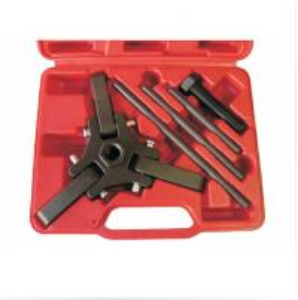 Cheap Harmonic Damper & Holding Puller Set for Chrysler, HYUNDAI and MAZDA engines Garage Equipm wholesale