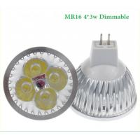 Cheap MR16 12W 4x3W 12w High power Dimmable CREE LED Spot Light Bulb Spotlight downlight lamp wholesale