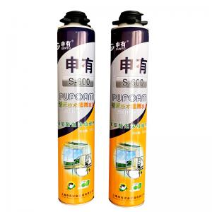 Cheap SGS Fast Filling DIN4102 B3 Fire Class Polyurethane Foam Spray wholesale