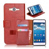 China PU Samsung Galaxy Leather Case , Grand Prime G530 Leather Case, Credit Card Holder on sale