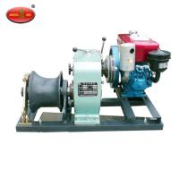 Cheap High Quality Lifting equipment 8 Tons Cable Winch With Honda Engine wholesale