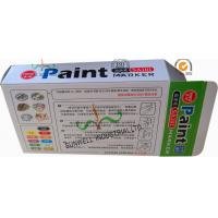 Cheap Fancy Cardboard Office Paper Box , Multi Color Painting Marker Pen Packaging Box wholesale