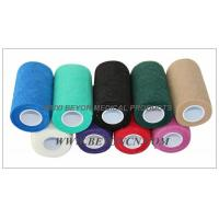 Quality Cohesive Elastic Bandage For Cow Equine Horse 4inch Non - Woven Hand Tearable for sale