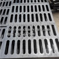 """Cheap Lightweight and easy install 9/16 inch x 6 1/8 inch Height 3/4""""channeld grate (ductile iron) black for sale wholesale"""