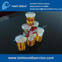 Cheap thin wall plastic injection moulding with IML, plastic thin wall mould making with IML wholesale