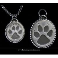 Cheap Round Paw Dog Pet ID Tags Disc Dog tag or Cat tag Engraved Custom LOGO wholesale