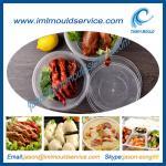 Cheap disopsable 1500ml food grade PP microwavable plastic safe bowls mould wholesale