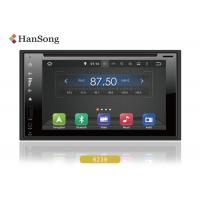 China 6.2inch Universal Android Car DVD stereo Full Touch support ipod , Android 2 Din Car Dvd Player on sale