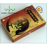 Cheap Full Color Printing Medicine Packaging Box , Herbology Small Cardboard Boxes wholesale