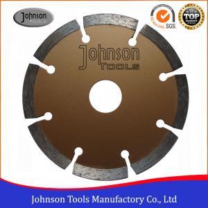 Cheap 4 Inch Stone Cutting Discs , Diamond Segment Saw Blade High Speed wholesale