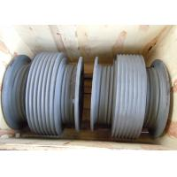 Cheap Aluminium Alloy Drum Shaped Wire Rope Reel with Different Reel Diameter wholesale