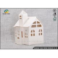 Cheap Candy / Cookie Folding Gift Boxes Special House Shaped Strictly Quality Control wholesale