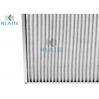 China 24 X 24 X 2 Merv 8 Pleated Air Filters Hvac Protection G4 Eu4 Efficiency on sale