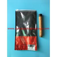 Cheap Customized Printed Small Cigar Humidor Bags / Cigar Packaging Bag wholesale