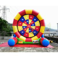 Cheap Multi Color Inflatable Sports Games Football Soccer Dart Board Digitial Printing wholesale