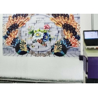 Quality 1CM Jet 3D 20w 360*720dpi Vertical Wall Painting Machine for sale