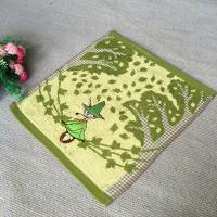 Buy cheap Old Witch Decoration Cotton Face Towel With Excellent Sweat Absoption from wholesalers