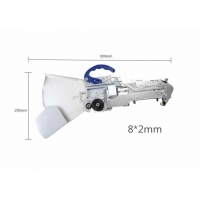 Cheap 8*2mm For 0402 Yamaha Pneumatic Feeder For CHMT530P4 / 560P4 / 510 Pnp Machine wholesale