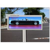 Cheap Advertising Transparent LED Screen , CE 16mm Pitch Pixel Electronic Display Board wholesale