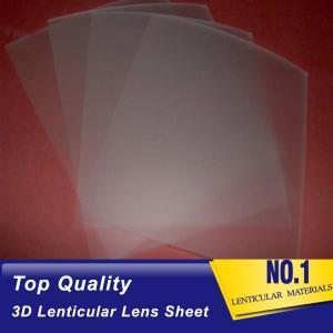 Cheap PLASTIC LENTICULAR lenticular 75 lpi 3d sheet pp material 0.45mm lenticular lenses sheet for sales China wholesale
