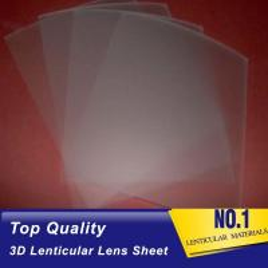 Cheap PP lenticular sheet suppliers uk raster 75 lpi 0.45mm lenticular lens plastic printing 3d sheet for sale wholesale