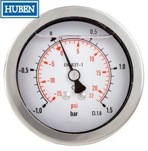 Cheap Liquid Filled Pressure Gauge - 0-40 bar - Bottom mount wholesale