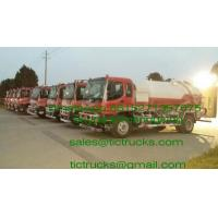 Cheap ISUZU vacuum tanker truck septik tank truck  Cesspool Emptying Truck CAPACITY 8000 UPTO20000L wholesale
