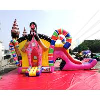 Buy cheap Sugar Shack Bouncy Castle Slide Inflatable Combo Bounce House For Amusement from wholesalers