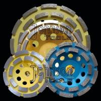 Buy cheap 105-180mm Diamond Grinding Wheels from wholesalers