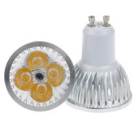 Cheap High power GU10 4x3W 12w 85-265V Dimmable Light lamp Bulb LED Downlight Led Bulb Warm/Pure wholesale