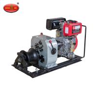 Cheap 3Tons Shafted Driven Cable Powered Pulling Winch For Lifting equipment wholesale