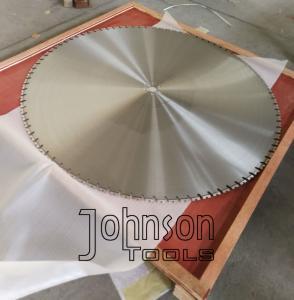 Cheap 64 Inch 1600mm Wall Saw Blades Big Diamond Reinforced Concrete Wall Cutting Saw wholesale