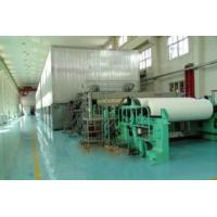 China Fourdrinier tissue paper making machine on sale