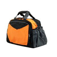 Cheap Outdoor Durable folding Travel Duffel Bags Fashionable , Orange / Purple / Red / Blue wholesale