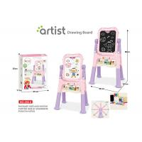 Cheap Toddlers Arts And Crafts Toys Magnetic Drawing Boards W / Stand 2 Sides Painting wholesale