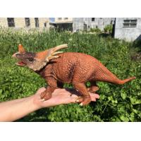 Cheap L30*W10*H14 Walking Triceratops Toy / Plastic Triceratops Dinosaur Toy wholesale